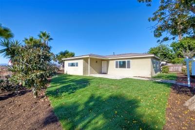 Oceanside Single Family Home For Sale: 1308 Higgins