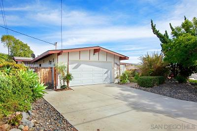 Poway Single Family Home For Sale: 14155 Halper Road