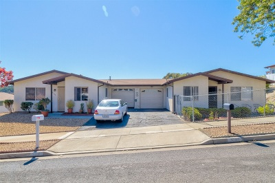 Oceanside Multi Family 2-4 For Sale: 3737 Gail Dr
