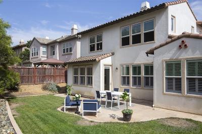 San Elijo Hills Single Family Home Pending: 868 Orion Way