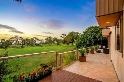 La Jolla Single Family Home For Sale: 7030 Fairway Rd