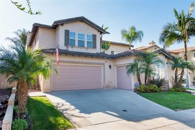 Chula Vista Single Family Home For Sale: 1060 Volcano Creek Rd