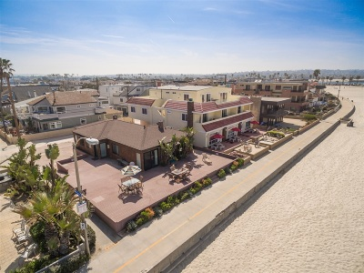 San Diego Residential Lots & Land For Sale: 2761 Ocean Front Walk #4