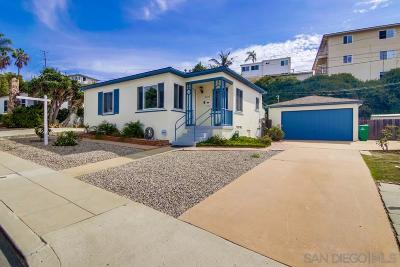 San Diego CA Single Family Home For Sale: $775,000