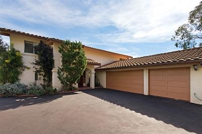 Fallbrook Single Family Home For Sale: 1537 Knoll Park Ln