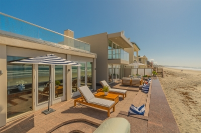 Del Mar Single Family Home For Sale: 2610 Ocean Front
