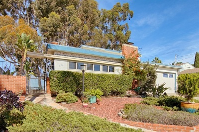 North Park, University Heights Single Family Home For Sale: 706 Madison Avenue