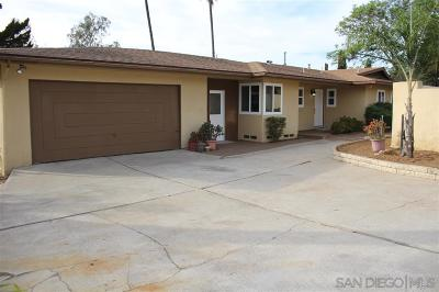 Vista Single Family Home For Sale: 624 Hillside Terrace