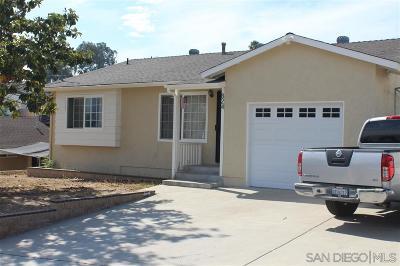 Single Family Home Back On Market: 824 La Presa Avenue