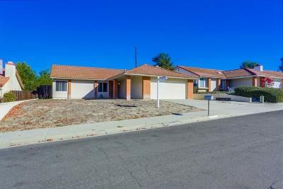 Oceanside Single Family Home For Sale: 4712 Lofty Grove Dr
