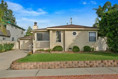 Single Family Home For Sale: 1324 Opal St