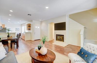 San Diego Townhouse Sold: 10926 Ivy Hill Drive #4