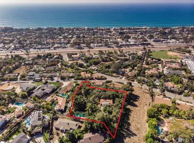 Encinitas CA Single Family Home For Sale: $2,500,000