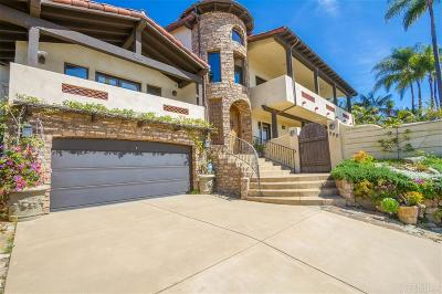 Encinitas Single Family Home For Sale: 399 Sunset Dr
