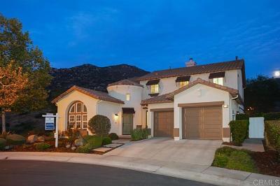 Escondido Single Family Home For Sale: 3566 Wild Oak