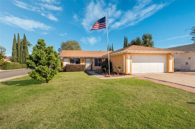 Poway Single Family Home For Sale: 12955 Gate Drive