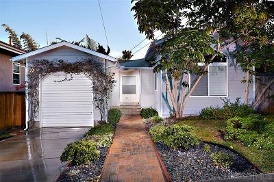 Encinitas Single Family Home For Sale: 135 Phoebe St