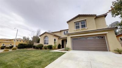 Murrieta, Temecula Single Family Home For Sale: 37968 Palomera Ln