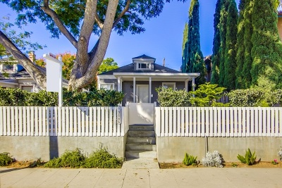 North Park, North Park - San Diego, North Park Bordering South Park, North Park, Kenningston, North Park/City Heights Single Family Home For Sale: 3646 Arizona St