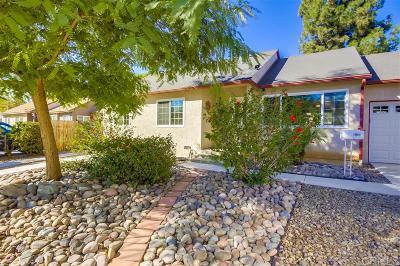 La Mesa Single Family Home For Sale: 3472 Fairway Dr.