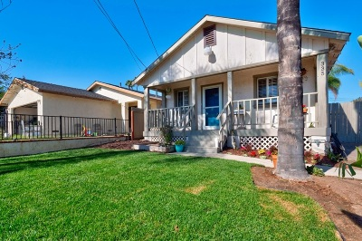 Vista CA Single Family Home For Sale: $399,900