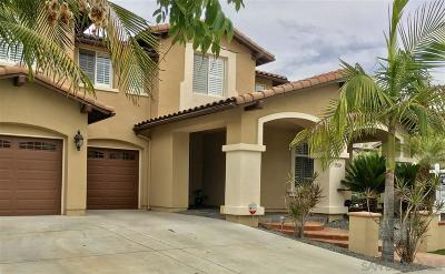 Chula Vista Single Family Home For Sale: S Santa Sierra Dr.
