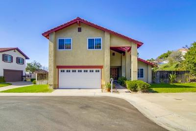 Chula Vista Single Family Home For Sale: 1588 San Mateo Point Ct