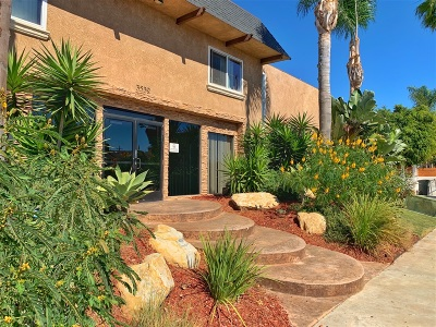 San Diego Attached For Sale: 3532 Meade Ave #29