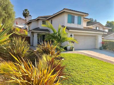 Oceanside Single Family Home For Sale: 4683 Calle Del Greco