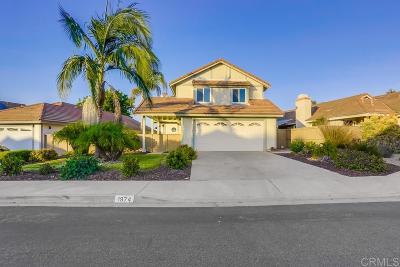 Vista Single Family Home For Sale: 1974 Elm Ridge Dr