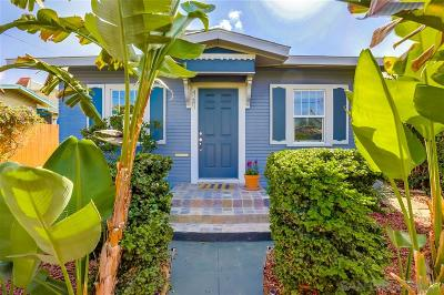 San Diego Single Family Home For Sale: 4283 Orange Avenue