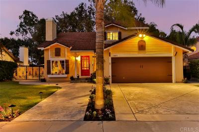 Poway Single Family Home For Sale: 14873 Morningside Drive