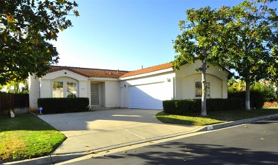 Vista Single Family Home For Sale: 2265 Dante Ter