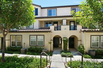 San Diego Townhouse For Sale: 1649 Paseo Aurora