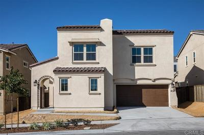 Chula Vista Single Family Home For Sale: 1077 Calle Pilares