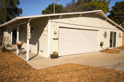 Santee Single Family Home For Sale: 9144 Fanita Rancho Road