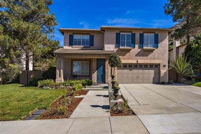 Fallbrook Single Family Home For Sale: 3422 Avocado Vista Lane
