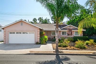 La Mesa Single Family Home For Sale: 5941 Dugan Ave