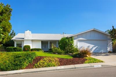 Del Cerro Single Family Home For Sale: 6757 Bluefield Ct