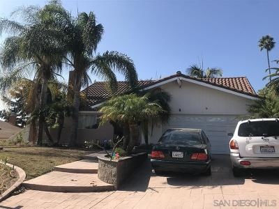 Carlsbad CA Single Family Home For Sale: $749,500