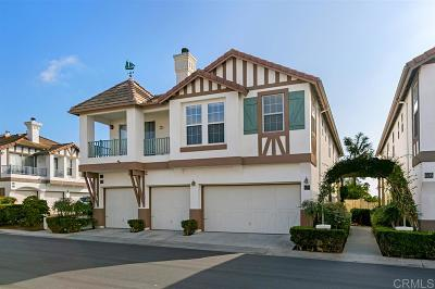 Encinitas Townhouse For Sale: 609 Sweet Pea Pl.