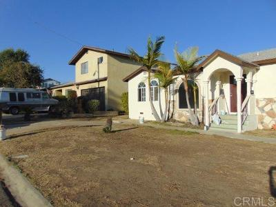 Chula Vista Single Family Home For Sale: 1337 Elden Avenue
