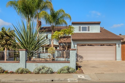 San Diego CA Single Family Home For Sale: $999,999