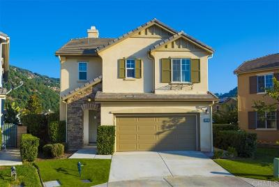 Fallbrook Single Family Home For Sale: 3816 Lake Shore