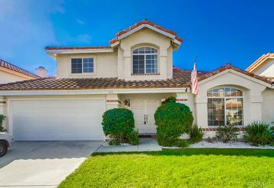Oceanside Single Family Home For Sale: 434 Calle Corazon