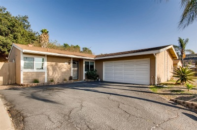 Escondido Single Family Home For Sale: 340 James St