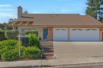 Oceanside Single Family Home For Sale: 1883 Blueridge St