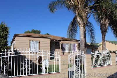 San Diego Single Family Home For Sale: 4432 Newton