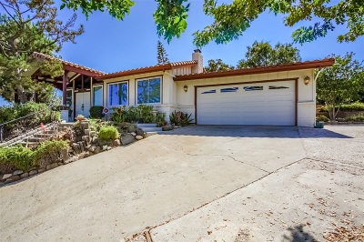 Escondido Single Family Home For Sale: 10208 Sage Hill Way