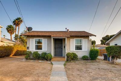 Chula Vista Multi Family 2-4 For Sale: 582 McIntosh Street